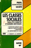 (A) Les classes sociales. Principes d'analyse et donnees empiriques - Jean-Pierre Briand